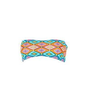 Maillot de bain bandeau multicolore Moselle (Haut) KHONGBOON