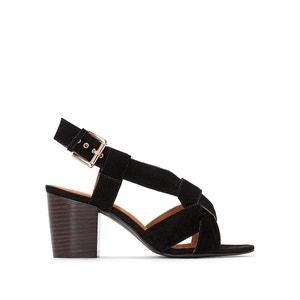 Sandales cuir brides croisées MADEMOISELLE R