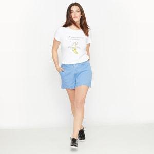 Camiseta estampada de manga corta CASTALUNA