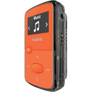 Lecteur MP3  SanDisk Clip Jam Orange 8 Go Ecran OLED 0.96 - Radio FM - Micro USB 2.0 - MicroSDHC SANDISK