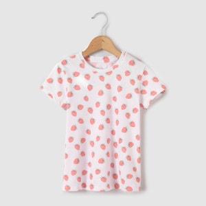 T-shirt imprimé fraises 3-12 ans abcd'R