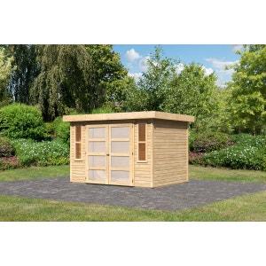 abri de jardin garage la redoute. Black Bedroom Furniture Sets. Home Design Ideas