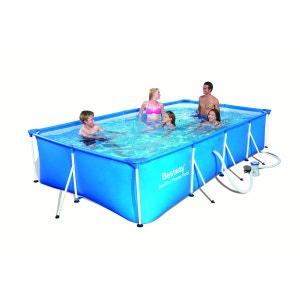 Piscine Tubulaire Rectangulaire Family Splash Frame Pools 399 x 211 x 81 cm BESTWAY BESTWAY