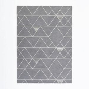 Tapis motif triangles pure laine, Stritus La Redoute Interieurs