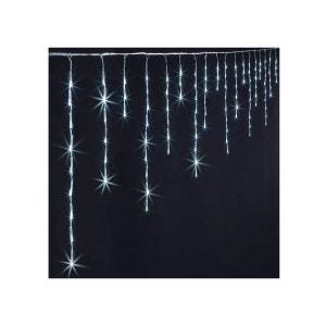 Guirlande lumineuse extérieur de Noël Rideau Flash 120 LED JARDIDECO