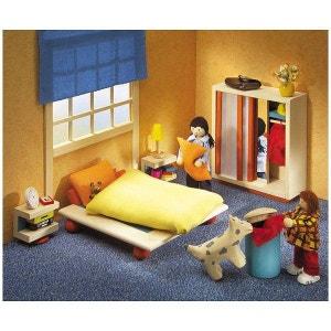 Meubles pour maison de poupées : Chambre à coucher Ambiente SELECTA