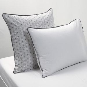 Taies d'oreiller Nordic, blanc/noir La Redoute Interieurs