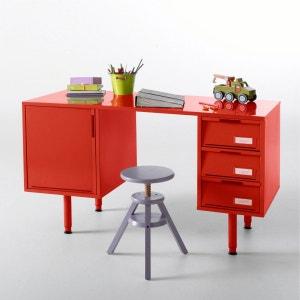 Chambre enfant lit commode bureau armoire enfant la - Bureau rouge enfant ...