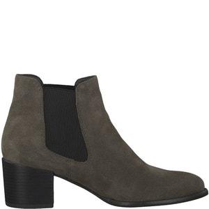 Boots pelle Paula TAMARIS