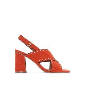 Sandalen met sierspijkers La Redoute Collections