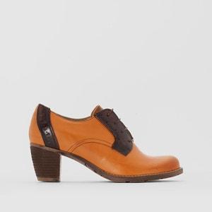 Zapatos derbies de piel con tacón Cecilia DKODE