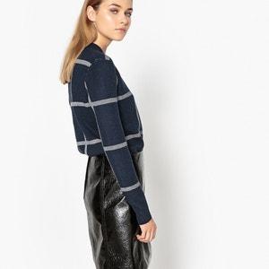 Пуловер в клетку La Redoute Collections