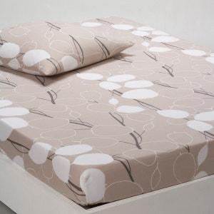 Sábana bajera ajustable de algodón biológico LEAVES La Redoute Interieurs