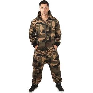 Combinaison Grenouillère URBAN CLASSICS Camouflage Camo Jumpsuit URBAN CLASSICS