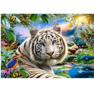 Puzzle 1500 pièces : Le tigre blanc CASTORLAND