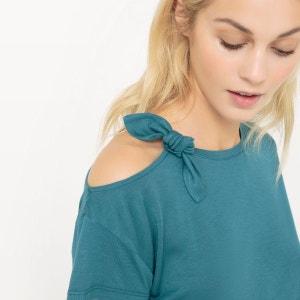 T-shirt uni épaule dénudée R Edition