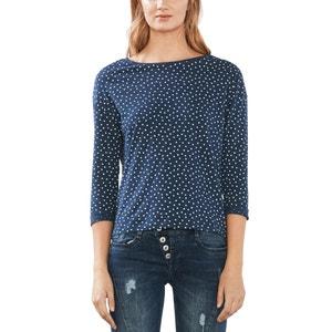 Breton T-Shirt with 3/4-Length Sleeves ESPRIT
