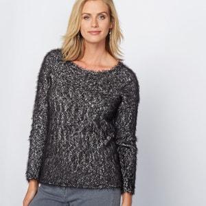 Pullover aus flauschigem Strick ANNE WEYBURN