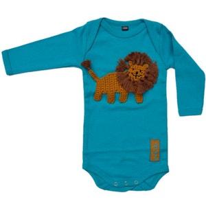 Body bébé en coton customisé avec lion brodé RIKIKI KIDS