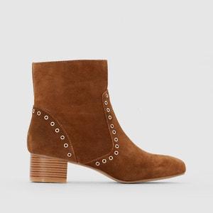 Boots croûte de cuir MADEMOISELLE R