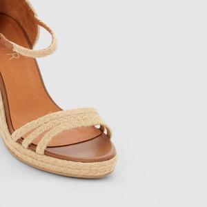 Sandalias con tacón de cuña de cuerda atelier R