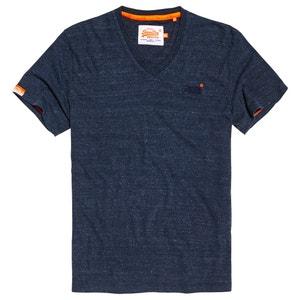 Short Sleeved V-Neck T-Shirt SUPERDRY