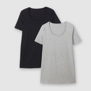 Lote de 2 T-shirts de mangas curtas CASTALUNA