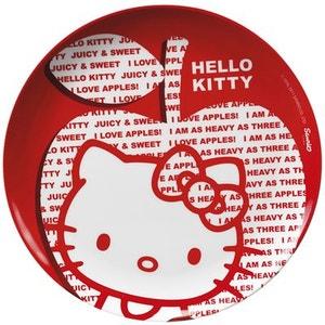 Assiette plate Hello Kitty Apple JEMINI