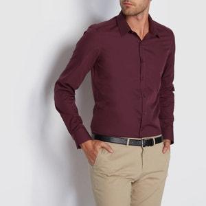Camisa de mangas compridas, corte slim liso R édition