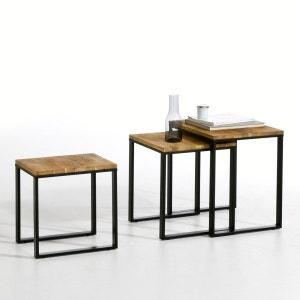 Table basse gigogne (lot de 3), Hiba La Redoute Interieurs
