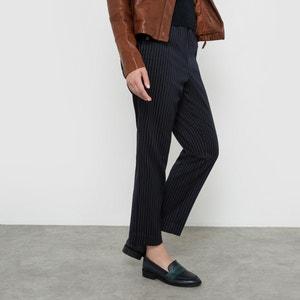 Spodnie w paski o długości 7/8 R studio