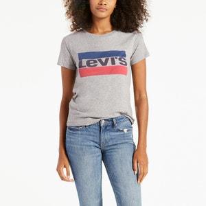 Camiseta lisa con cuello redondo y manga corta LEVI'S