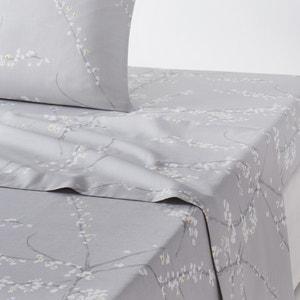 Drap plat imprimé, satin de coton, Natsumi La Redoute Interieurs