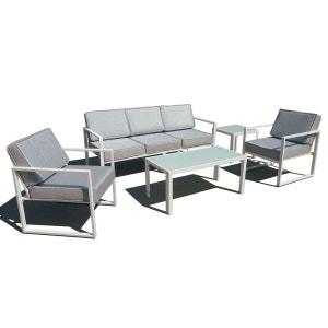 Salon de jardin 5 places en aluminium BOUTIQUE-JARDIN
