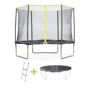 Pack trampoline Ø 305cm Cabri, avec filet, échelle et bâche de protection ALICE S GARDEN