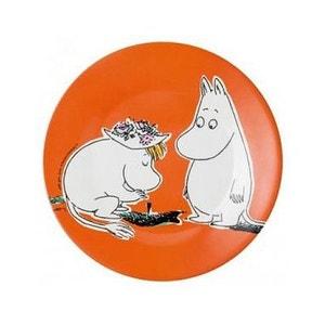 Assiette Moomin Feu Orange PETIT JOUR