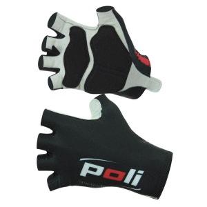 Gants mitten ROAD Logo Cyclisme Poli POLI