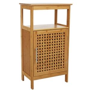meuble de salle de bain dcor bambou plateau et porte gamme bambou instant d o - Accessoire Salle De Bain Bambou