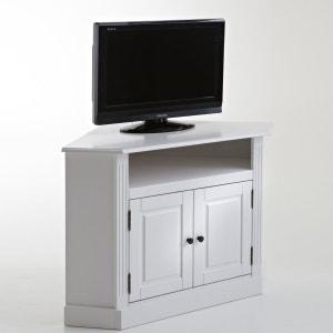 Authentic Style Solid Pine Corner TV Unit La Redoute Interieurs