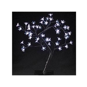 Arbre lumineux Led à poser Prunus 48 Led - Blanc FEERIE LIGHTS