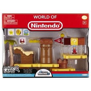 Micro Playset Deluxe Nintendo Super Mario : Dune de miel JAKKS PACIFIC