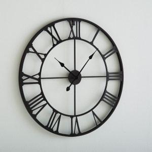 Horloge horloge murale design la redoute for Horloge murale geante pas cher