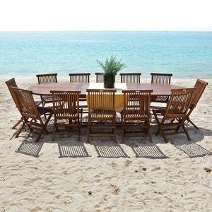 Salon de jardin - Table, chaises   La Redoute