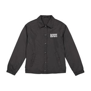 Waterproof Slogan Print Jacket, 10-16 Years