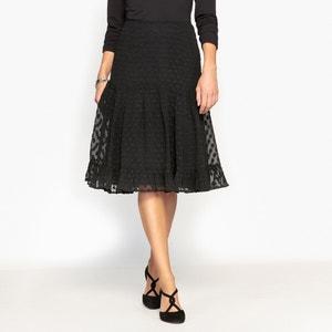 Polka Dot Mesh Style Skirt ANNE WEYBURN