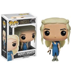 Game of Thrones - Figurine Pop Daenerys Targaryen Blue Dress 10cm FUNKO