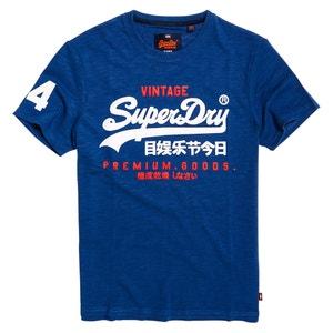 T-shirt scollo rotondo, maniche corte SUPERDRY