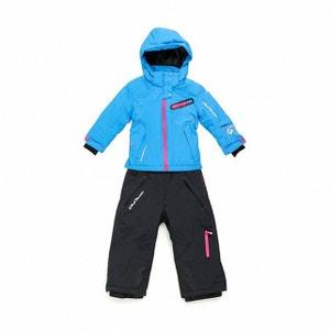 Peak Mountain - Ensemble de ski fille 10/16 ans GASTEC-turquoise/noir PEAK MOUNTAIN