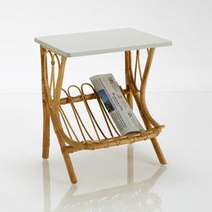 KOK Rattan Bedside Table La Redoute Interieurs