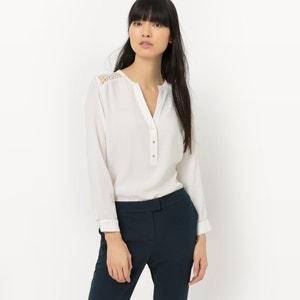 Straight Viscose Shirt SUNCOO
